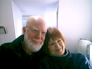 Ron and I, Feb. 2006